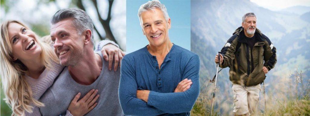 "3 happy men PT-141 ""BREMELANOTIDE"" FOR MALE SEXUAL HEALTH"