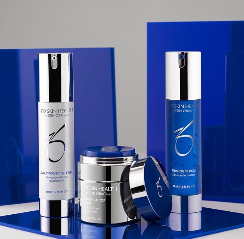 Zo Anti-aging products available at Dr. Scott's Indian Trail, NC location. Call for availability.